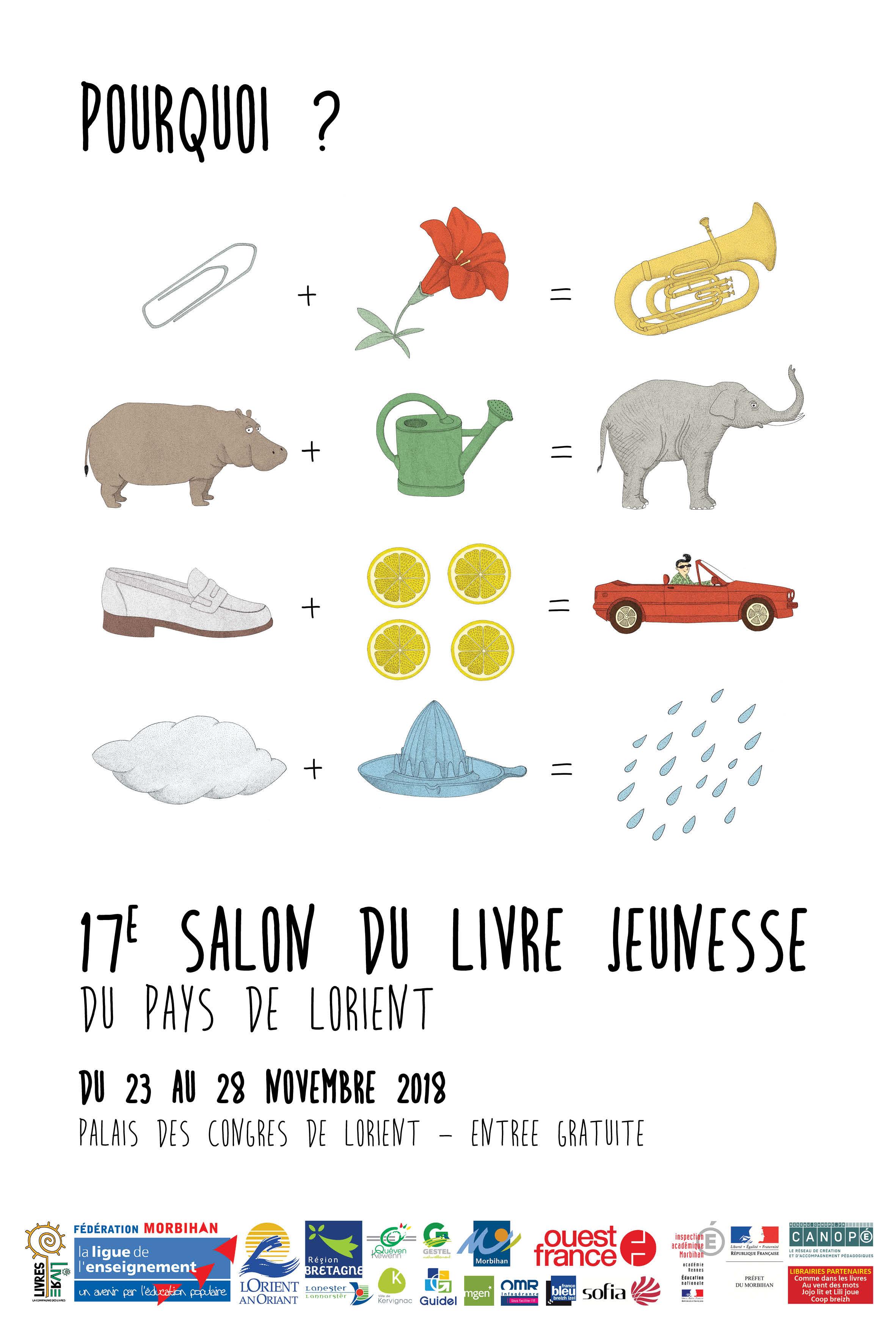 La Bibliotheque Au Salon Du Livre Jeunesse A Lorient