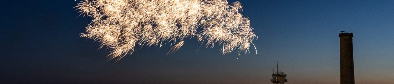 Amicale laïquede Penmarc'h feu d'artifice du 13_07_2019 à St Pierre